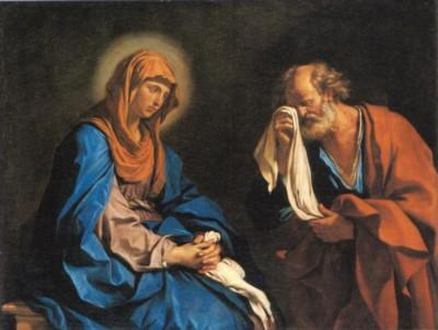グェルチーノ《ペテロの涙》