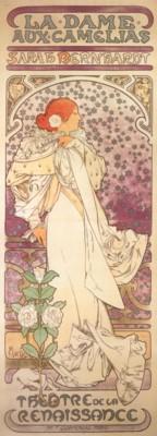アルフォンス・ミュシャ《椿姫》