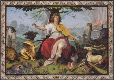 マルチェッロ・プロヴェンツァーレ《オルフェウスの姿のシピオーネ・ボルゲーゼ》