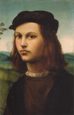 リドルフォ・デル・ギルランダイオ《若者の肖像》