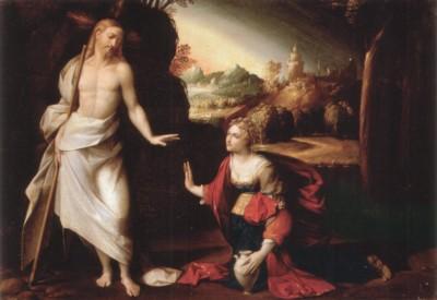 作者不詳(16世紀後半に活動)、ガローファロの追随者《我に触れるな(ノリ・メ・タンゲレ)》