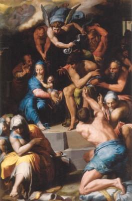 ペッレグリーノ・ティバルディ《幼児礼拝》