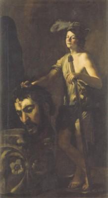 バッティステッロ《ゴリアテの首を持つダヴィデ》