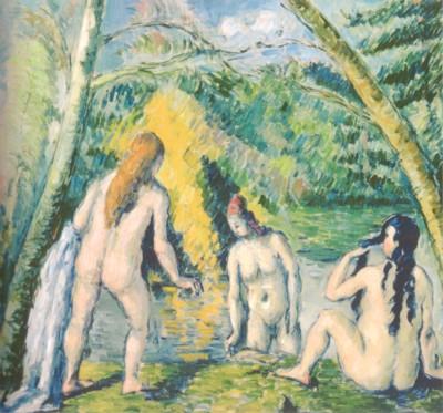 ポール・セザンヌ《3人の水浴の女たち》(パリ市立プティ・パレ美術館蔵)
