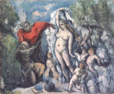 ポール・セザンヌ《聖アントニウスの誘惑》(オルセー美術館蔵)