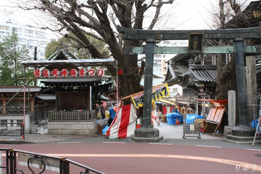 湯島天神梅まつり02