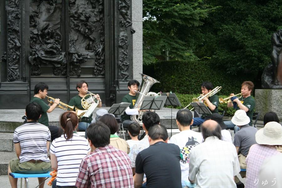 国立西洋美術館前庭コンサート04