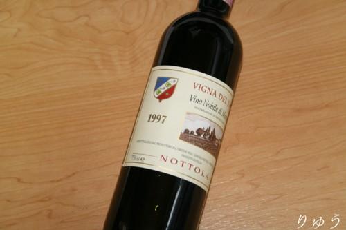 ノットーラ ヴィーノ ノービレ ディ モンテプルチアーノ 1997 02