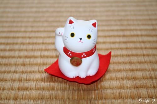 薬師窯の招き猫