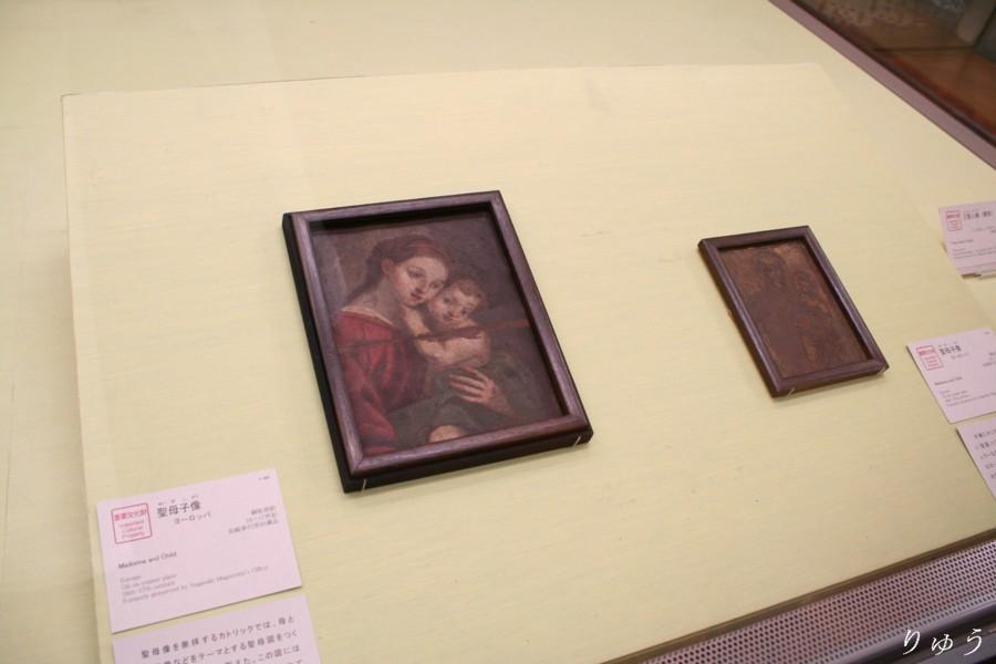 《聖母子像》 ヨーロッパ 長崎奉行所旧蔵品 【重要文化財】