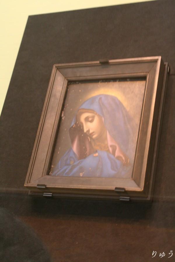 《聖母像(親指のマリア)》 イタリア 長崎奉行所旧蔵品 宝永5年(1708)シドッチ携行品 【重要文化財】