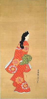 菱川師宣《見返り美人図》(東京国立博物館蔵)