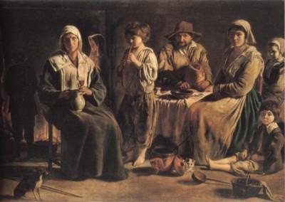 ル・ナン兄弟《農民の家族》