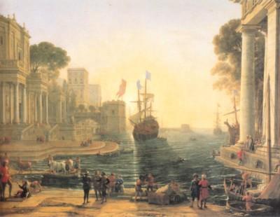 クロード・ロラン《クリュセイスを父親のもとに返すオデュッセウス》