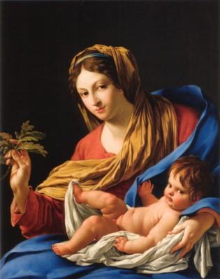 シモン・ヴーエ《エスランの聖母》