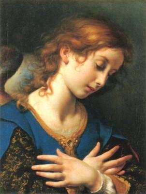 カルロ・ドルチ《受胎告知 天使》