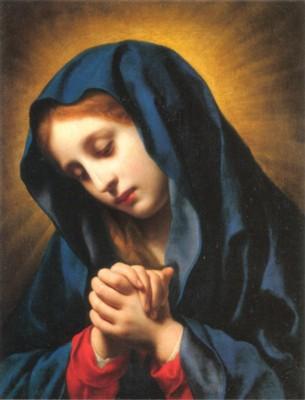 カルロ・ドルチ《受胎告知 聖母》