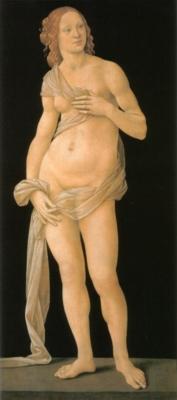 ロレンツォ・ディクレーディ《ヴィーナス》(フィレンツェ、ウフィツィ美術館蔵)