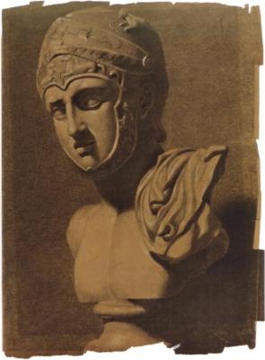 ジョン・エヴァレット・ミレイ《ギリシア戦士の肖像》(ジェフロイ・リチャード・エヴァレット・ミレイ・コレクション蔵)