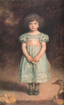 ジョン・エヴァレット・ミレイ《あひるの子》(国立西洋美術館蔵)